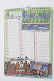 Verjaardagkalender - 'Wanneer is het feestje?'_