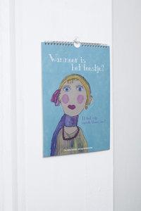 Verjaardagkalender - 'Wanneer is het feestje?'